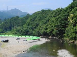 秋川橋河川公園バーベキューランド